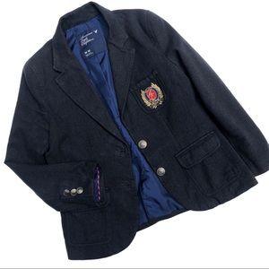 American Eagle Preppy Crest Jacket Blazer
